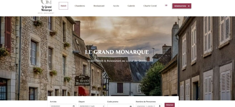 Site le Grand Monarque