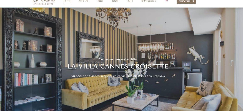 Site La Villa Cannes