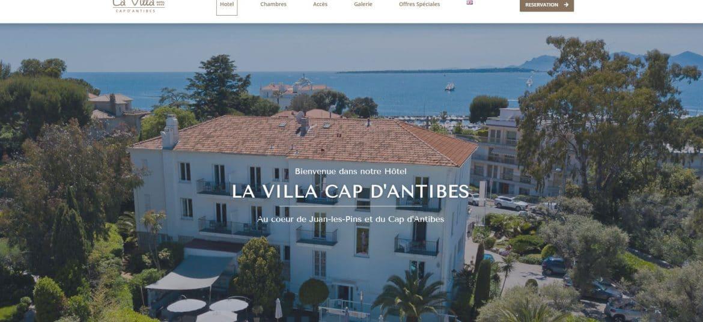 Site La Villa Juan les Pins