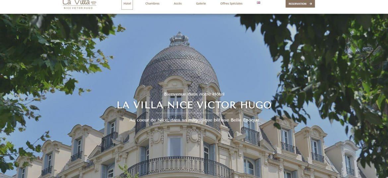 Site la Villa Nice Centre