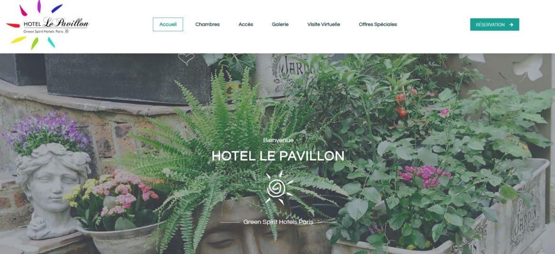 Site Le Pavillon