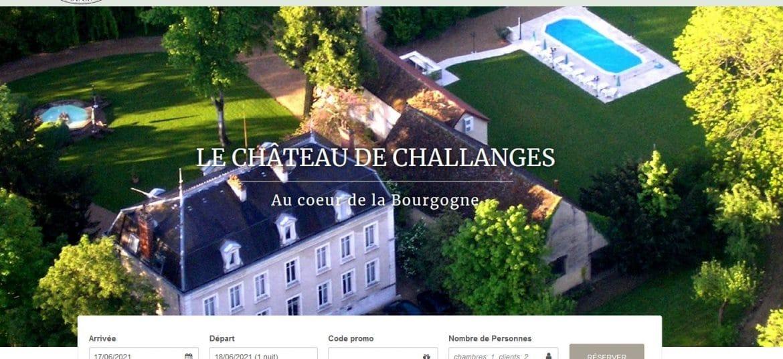Site Chateau de challanges