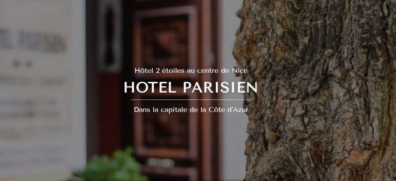 Site Hotel Parisien