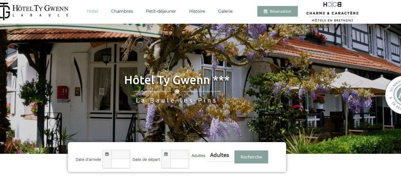 Site Hotel Ty Gwenn